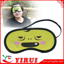 YY009 Heat transfer printed cartoon micro fiber sleep eye mask