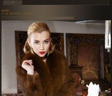 The whole skin wild rabbit hair fox collars 2012 new grow a fur coat coat female