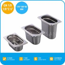 2015 Professional Stainless Steel Cookware with 2/1x1.4""