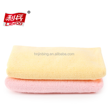 Super absorbent polyester microfiber hair wraps towel hair drying towel