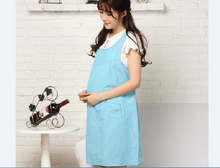 Pleated blouse summer new maternity big yards Polka Dot Maternity Dresses