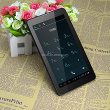 """Free booting Personal logo calling tablet, 7"""" tablet 3g wifi bluetooth fm gps"""