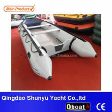best-selling CE certificate aluminum floor inflatable rubber boat for sale