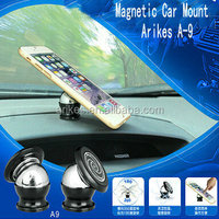 A-8 Universal magnetic Air Vent Car Holder Mount for cell phone GPS/car holder/magnet car phone holder