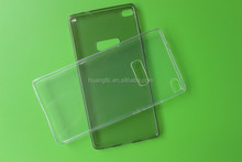 New Arrival For Huawei Ascend P8Max Transparent Ultra Thin Premium TPU Gel soft case back skin housing cover bags