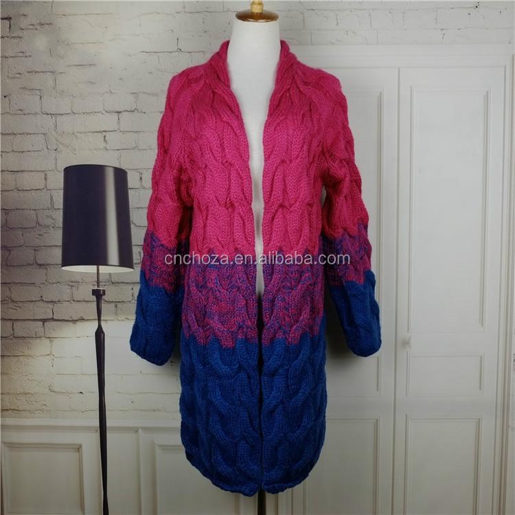 Fashionable Knitting Patterns : Z52861B New Fashion Knitting Pattern Pullover Sweater For Women, View knittin...
