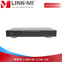 New products on china market LM-SP14-AUDIO Resolution reach up to 4Kx2K 4-port HDMI Splitter