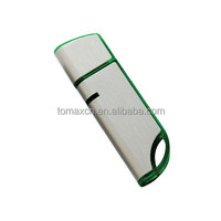 Free custom your logo plastic with metal USB flash pendrive 512MB to 64GB CE FCC ROHS