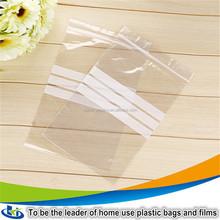 Zip lock bags with heat seal/vacuum sealing zip lock plastic bags/vinyl zipper bags