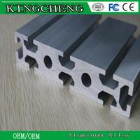 6063 and 6061 polishing anodized aluminium extrusion profiles for shower enclosure