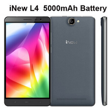 100% original iNew L4 Android 5.1os MTK6735 Quad Core dual sim card 1gb ram +16gb rom android phone