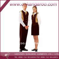 Hotel uniform for waiters and waitress