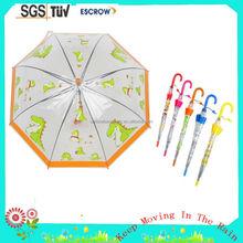 Transparent/cute whosale cheap high quality China children umbrella