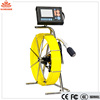 Push rod sewer pipe inspection camera