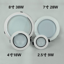 Alloy Die Casting AC 230V indoor Driverless ac LED Downlight 28w