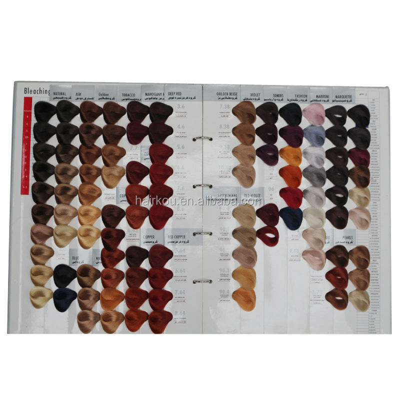 Oem manufacturer salon professional hair dye color chart for A salon to dye for