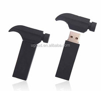 Customized lovely 3D Hammer shape usb memory drive , tool shaped usb drive