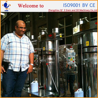 1TPD-10TPD machines in making cold pressed coconut oil