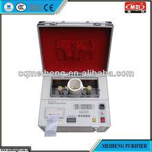 HCJ High Efficient Transformer Oil tester insulating oil emergency portable oil purifier