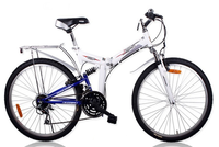 Lightweight 26'' Folding Mountain Bike Downhill DH Bicycle Bicicle