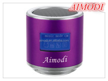 Aimodi Portable Mini Speaker , 2015 HOT SALE speaker S10 can as dj music player, suported USB/TF/MP3/MP4