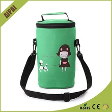 Top quality colorful eco outdoor non woven insulated lunch cooler bag