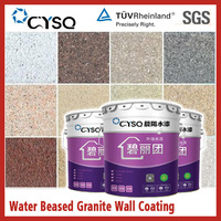 Water based granite coating