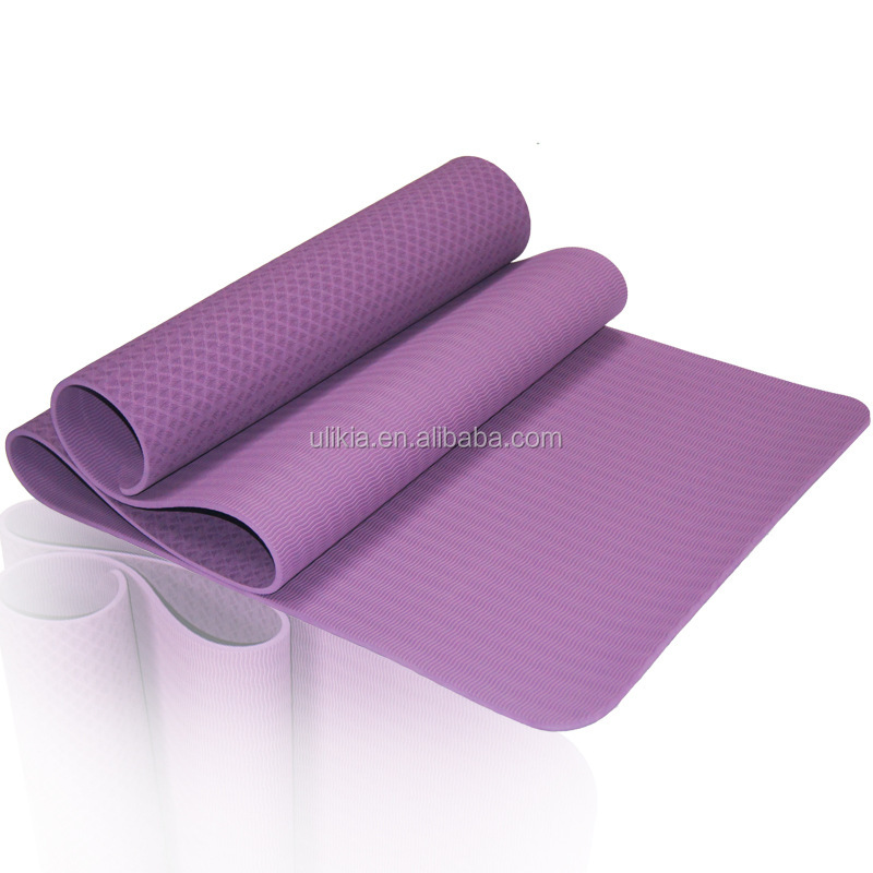 "Eco-friendly Custom Printed Tpe Yoga Mat 72"" X 32"""