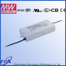 MeanWell Dimmable LED Driver with PFC Function IP30 PCD-60-1400B