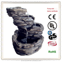 large outdoor water fountains artificial rock waterfalls for home
