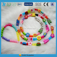 cute dog traction rope Beaded wire traction chain with the dog