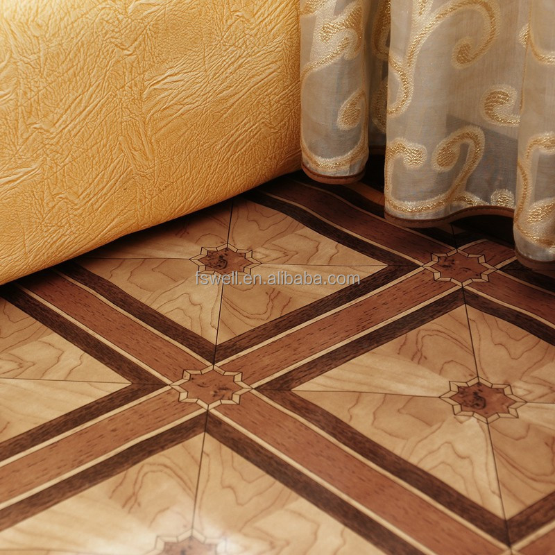 High quality waterproof pvc floor covering vinyl laminate for Hardwood floor covering