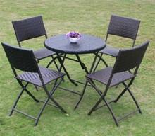 Outdoor Folding rattan furniture design for 2015 wholesale