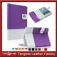 graceful purple case for ipad mini 3, for ipad mini 3 leather case