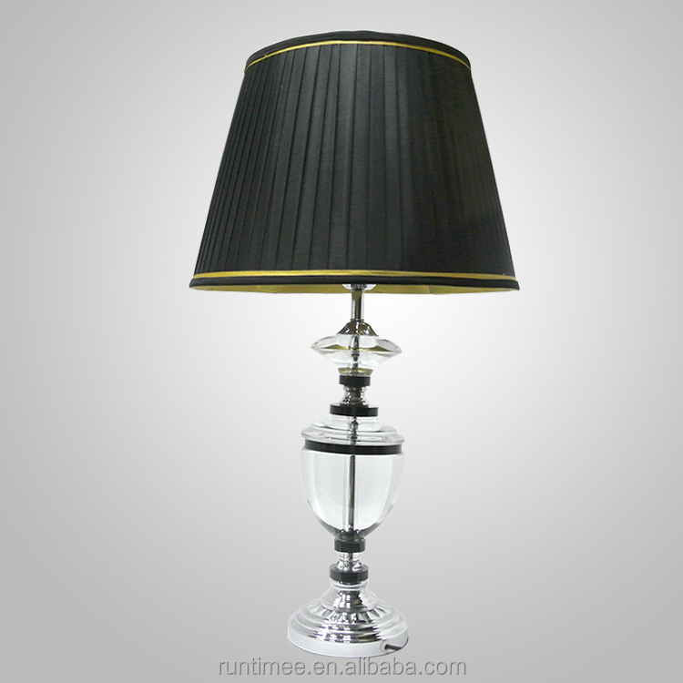lamps for bedroom modern crystal table lamp black crystal table lamp