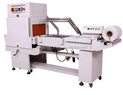 POF/PE/PVC film semi auto l type shrink sealer