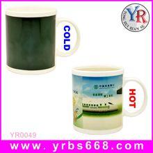 Printing your logo amazing color change mugs taj mahal souvenir gift/exhibition souvenir gifts
