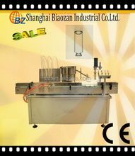 Automatic factory price high efficient rotary small bottle perfume filling capping machine