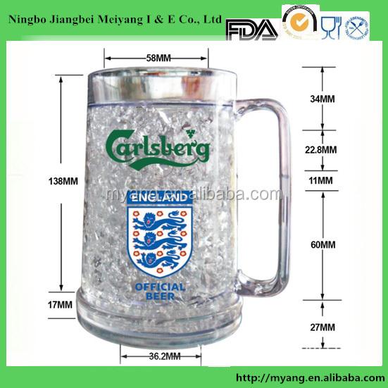 Bpa Free 16oz Ps Bpa Free Beer Mug Ice Gel Beer Mug
