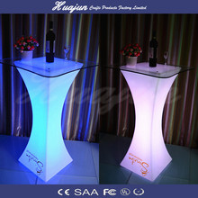 led cube light Table for bar /cafe/garden/home decoration