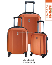 Simple Model Travel Car Luggage And Bags With Four 360Degree Wheels