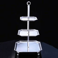 TOP SALE excellent quality aluminum cake stand/ fruit stand wholesale