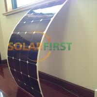 high efficiency marine semi 100W flexible amorphous solar panel