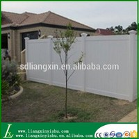 Used pvc plastic fence for garden