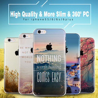 High Quality Full Protector Cover Case For Apple iPhone 5s 6 6s plus with the Latest Slim Full Cover Cases