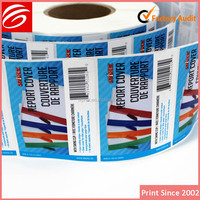 UV Offset Printing label printing free sample vinyl adhesive tire rubber barcode labels for packaging