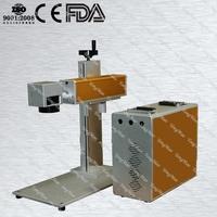 Top sale metal tyre pvc side pumped laser marking machine