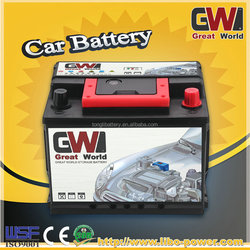 55530 dry charged car battery mf charging battery