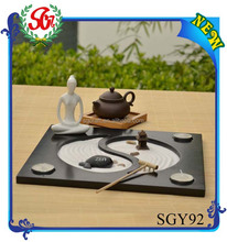 SGY92 Yoga Figurine Feng Shui Zen Garden Decor New Design Arts and Craft