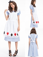 walson hot cool summer alice in wonderland costume girls party dresses halloween costumes wholesale in china